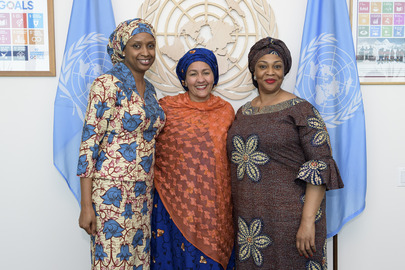 Deputy Secretary-General Meets Minister of State for Transportation of Nigeria
