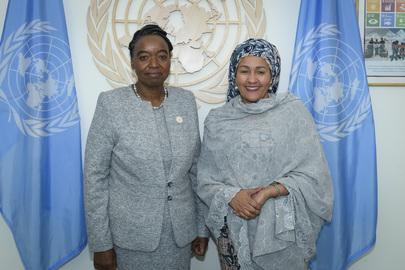 Deputy Secretary-General Meets Cabinet Secretary for Foreign Affairs of Kenya