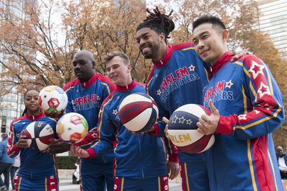 Harlem Globetrotters Visit United Nations