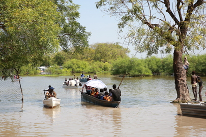 Head of UNMISS Assesses Impact of Flooding in Pibor