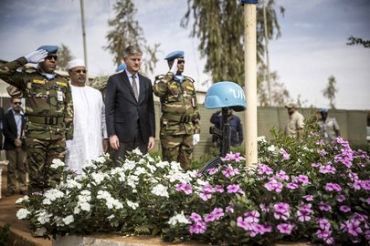 Under-Secretary-General for Peace Operations Visits Mali