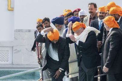 Secretary-General Visits Gurdwara Kartarpur Sahib