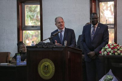 Swearing in Ceremony of Vice Presidents of South Sudan