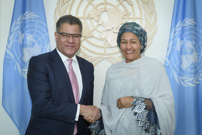 Deputy Secretary-General Meets President-designate of COP26