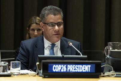 COP26 President-designate Briefs Member States