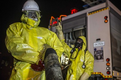 Decontamination of Public Places in Bamako during COVID-19