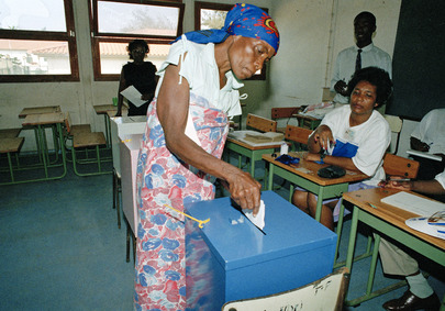 UNAVEM II Observes and Verifies Elections in Angola