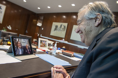 Secretary-General Wishes Happy 100th Birthday to Tom Moore