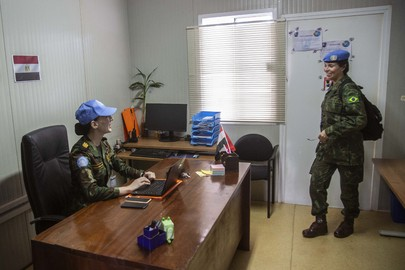 A Day with MINUSCA Gender Advocacy Officer