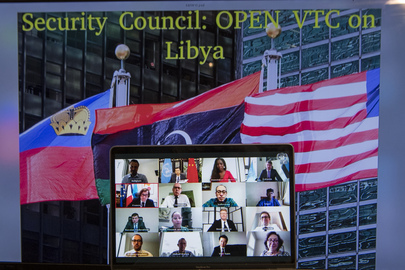 Security Council Members Hold Open Videoconference in connection with Libya