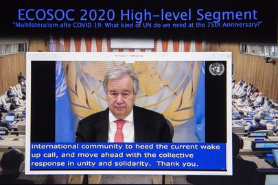 ECOSOC 2020 High-level Segment on Future of Sustainable Development Goals