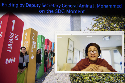 Deputy Secretary-General Briefs on SDG Moment to be Convened During High-Level Week