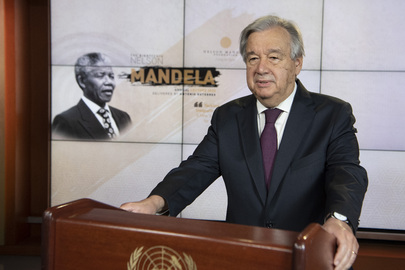 Secretary-General Delivers 18th Nelson Mandela Annual Lecture