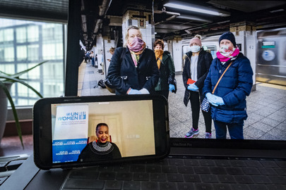 Secretary-General Holds Virtual Townhall with Women's Civil Society in Light of COVID-19