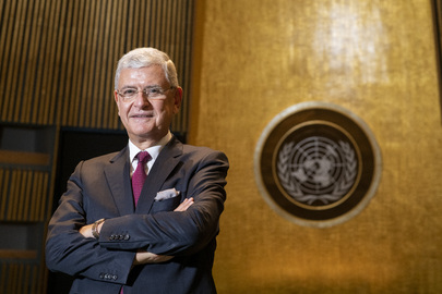 Portrait of President-elect of Seventy-fifth Session of United Nations General Assembly