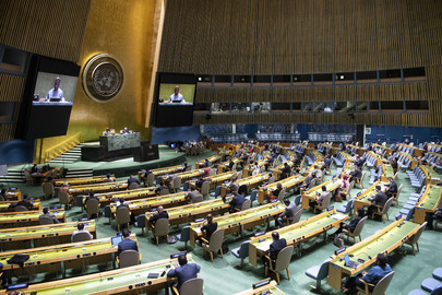 General Assembly Holds 64th Plenary Meeting