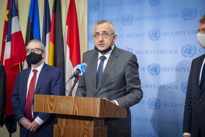 Permanent Representative of Belgium Briefs Press