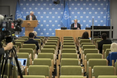 Secretary-General Holds Press Conference
