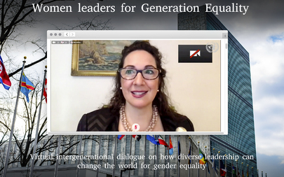 Women Leaders for Generation Equality: A Virtual Discussion