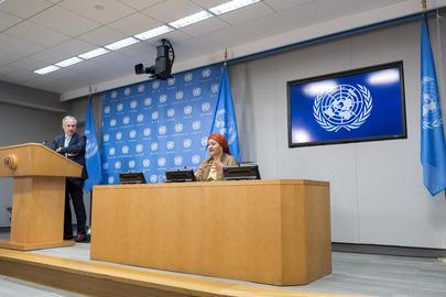 Deputy Secretary-General and SDG Advocate Briefs Press