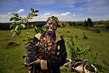 """UN Forum on Forests Photo Competition Winner: """"Face of the Mau: Community Leader Planting Trees"""" 14.571264"""