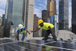 Solar Panels Installed on Roof of UN Headquarters 4.2451324