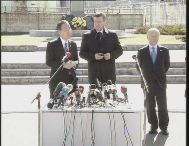 UKRAINE  BAN KI-MOON CHERNOBYL