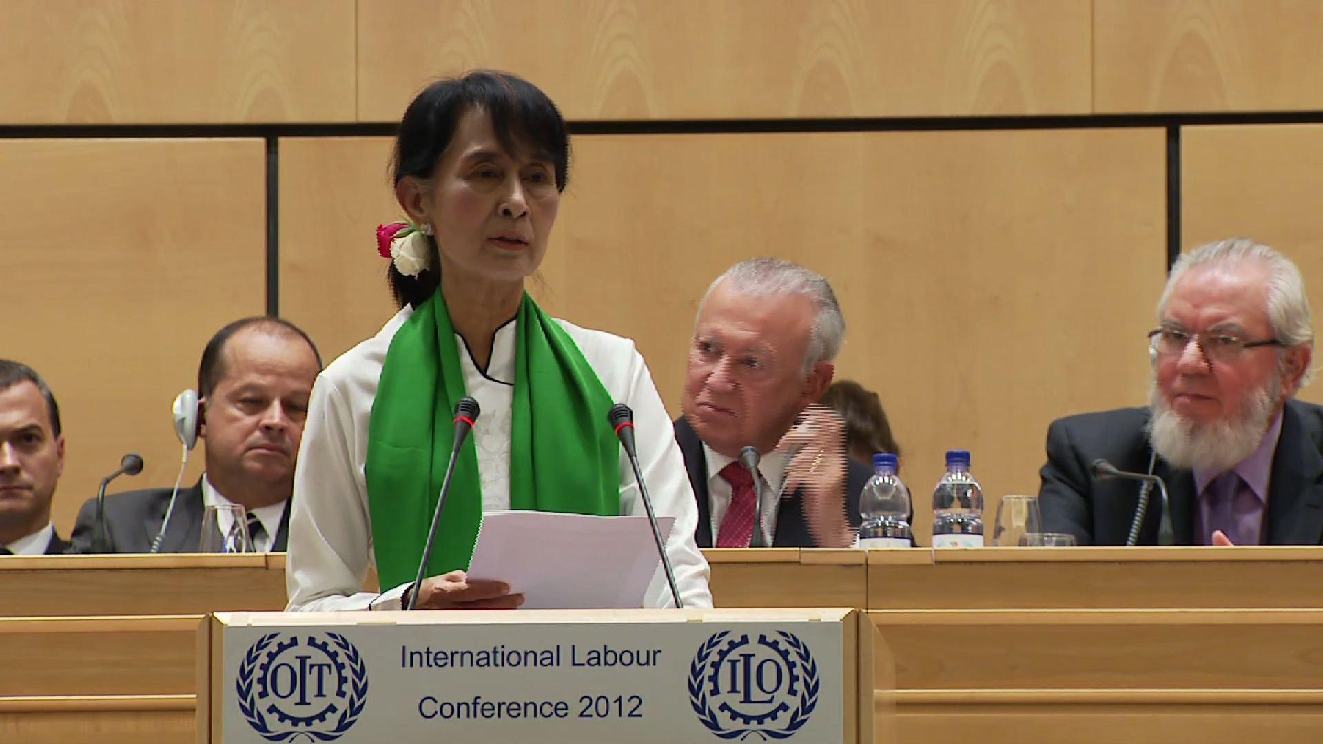 GENEVA  AUNG SAN SUU KYI