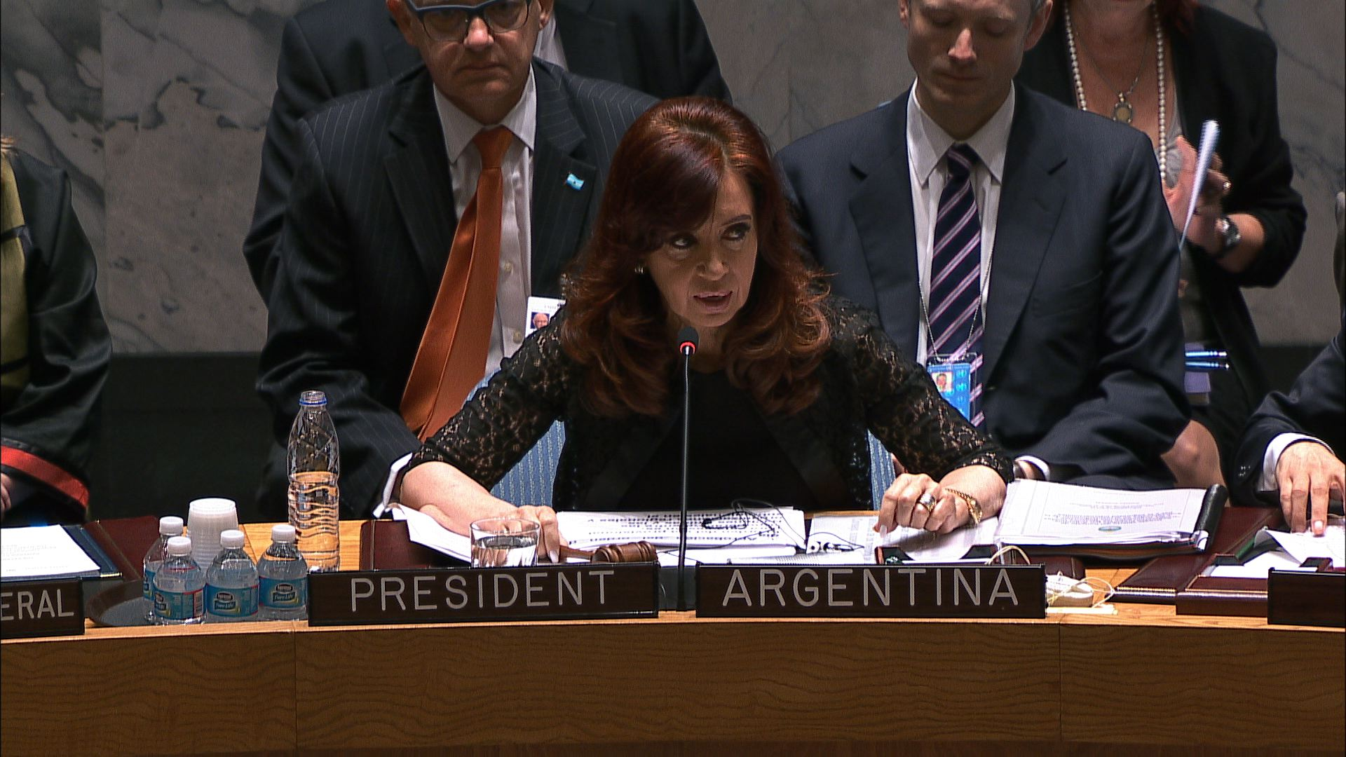 UN  KIRCHNER PEACE AND SECURITY