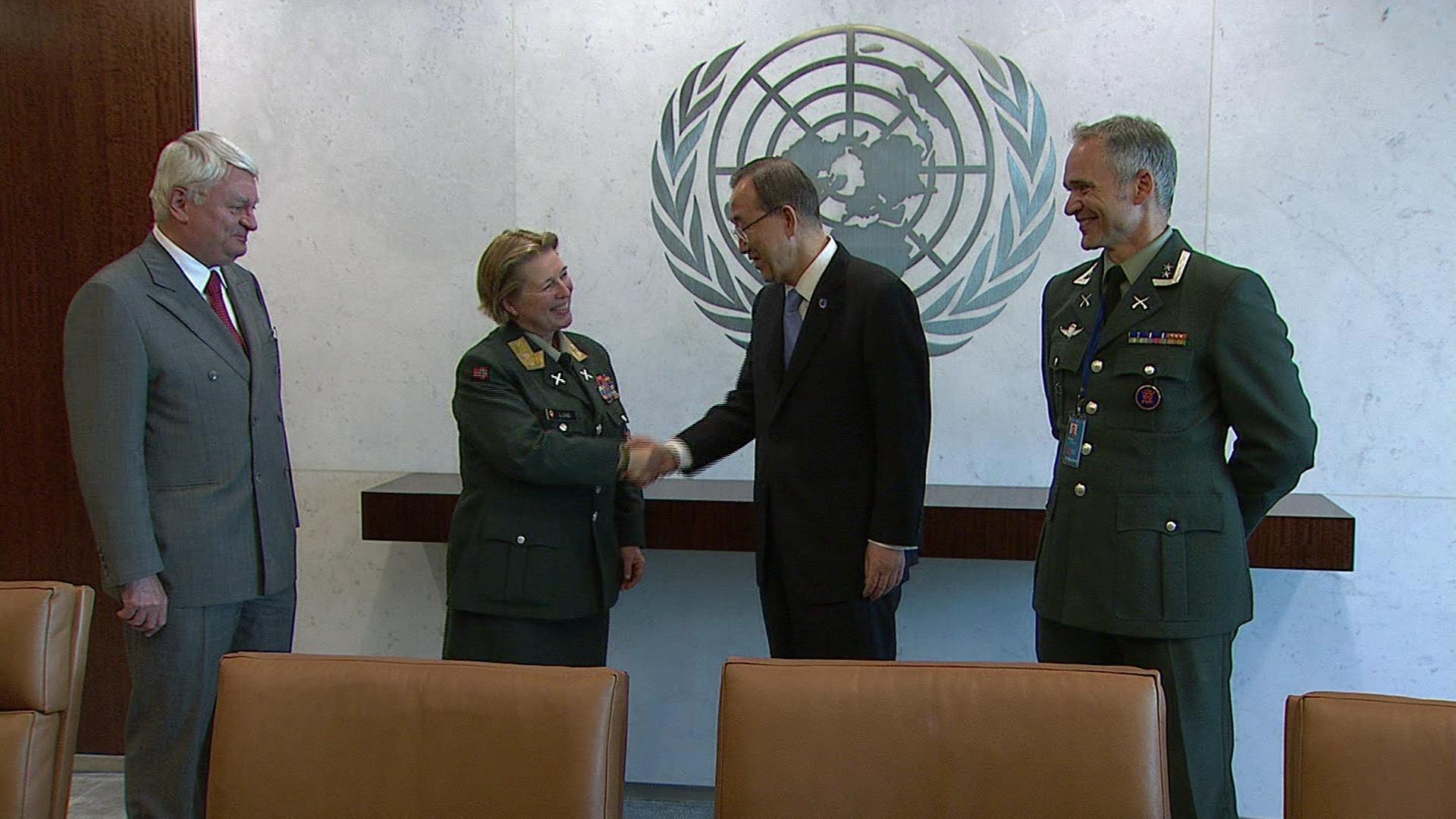 UN  FEMALE FORCE COMMANDER