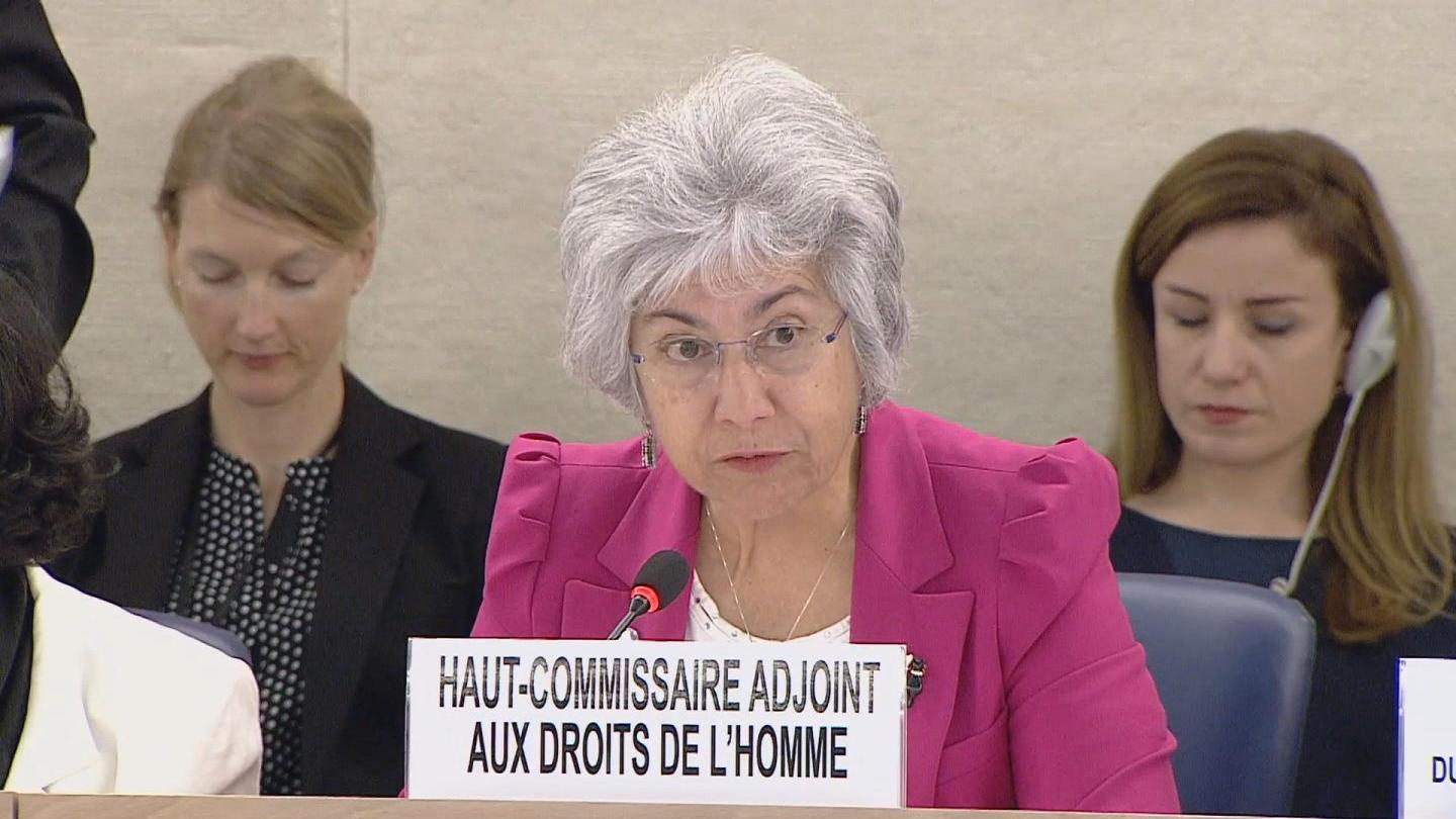 GENEVA  HRC SPECIAL SESSION ISIS