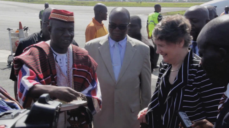 LIBERIA GUINEA  HELEN CLARK