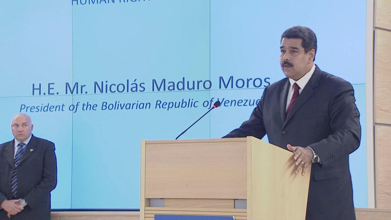 GENEVA  MADURO HUMAN RIGHTS