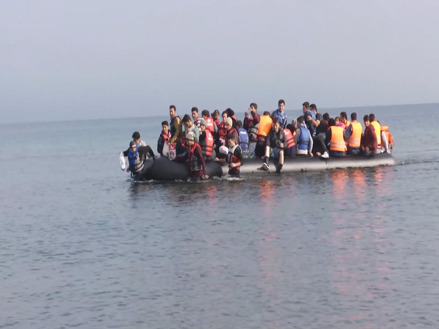 GREECE  CHILD MIGRANT DROWNINGS