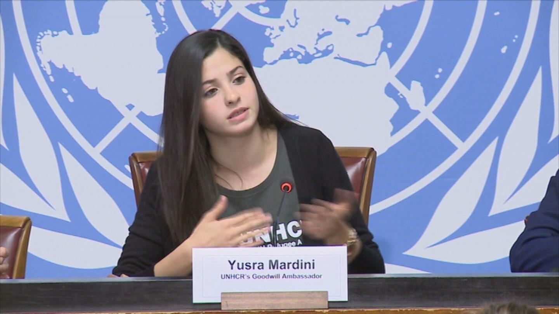 GENEVA  UNHCR YUSRA MARDINI