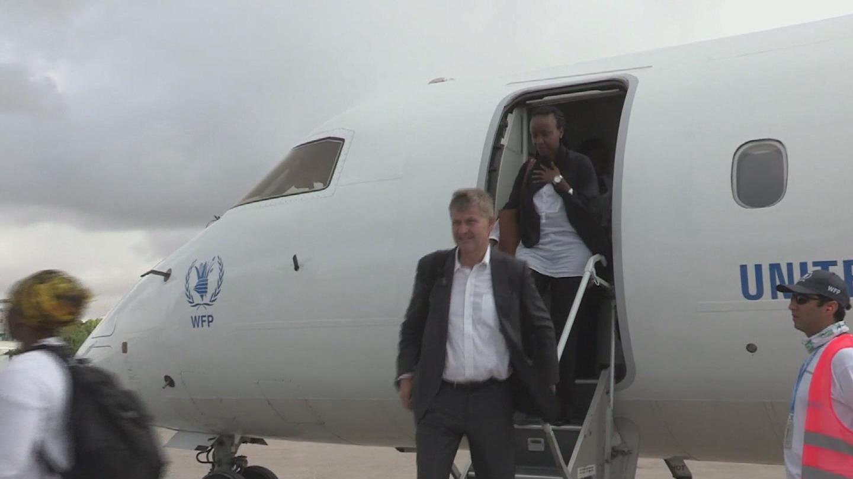 SOMALIA  DROUGHT SOLHEIM VISIT