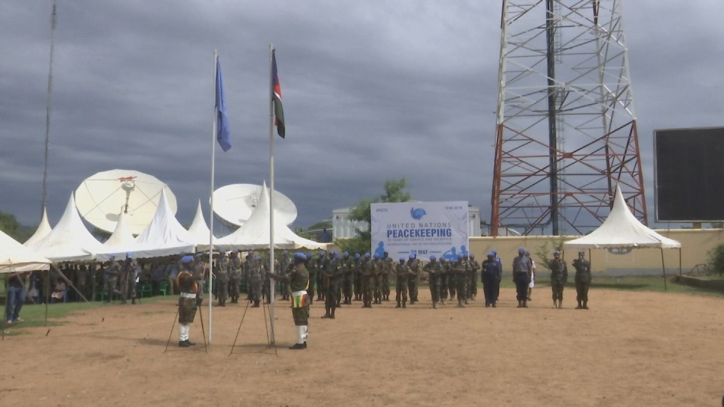 SOUTH SUDAN  PEACEKEEPERS DAY