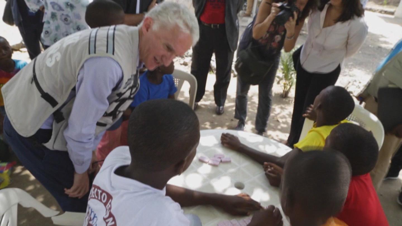 HAITI  LOWCOCK VISIT