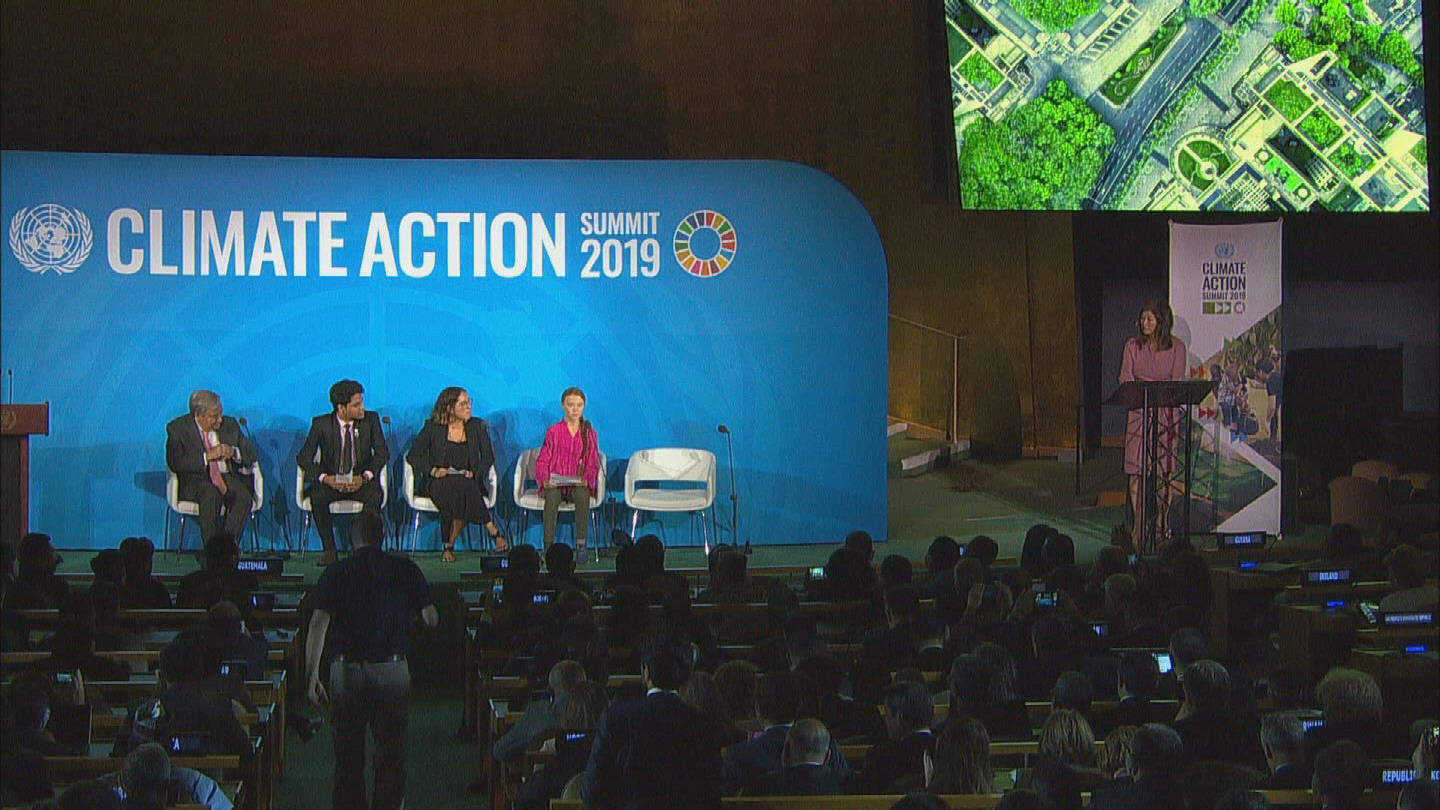 UN  CLIMATE ACTION SUMMIT OPENING