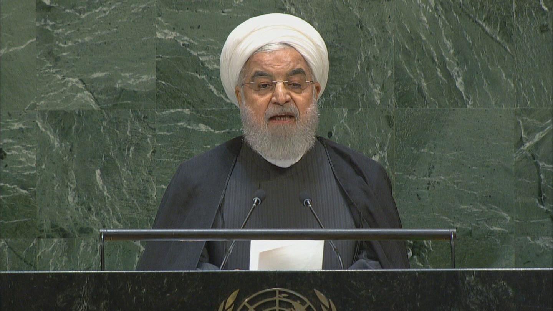 UN  IRAN ROUHANI