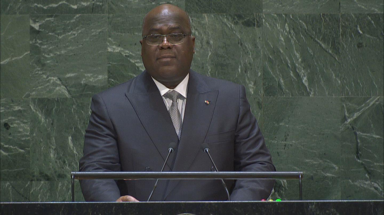 GA  DRC TSHISEKEDI