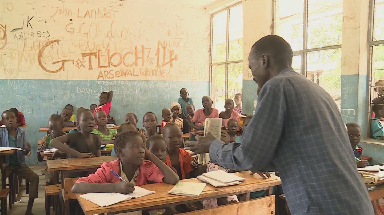 ETHIOPIA  REFUGEE TEACHER