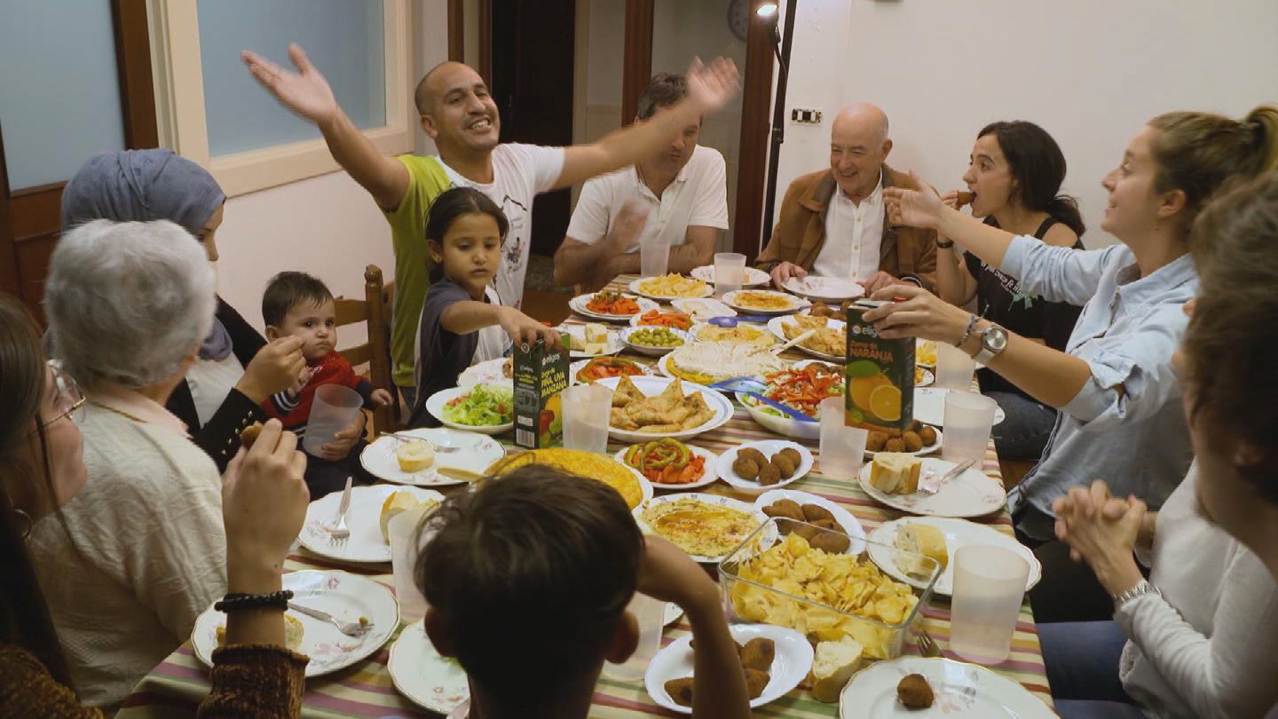 SPAIN  SYRIAN REFUGEES