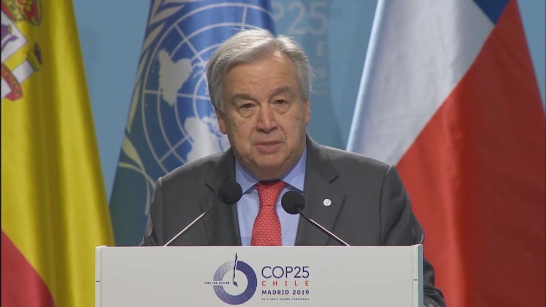MADRID  COP 25 OPENING