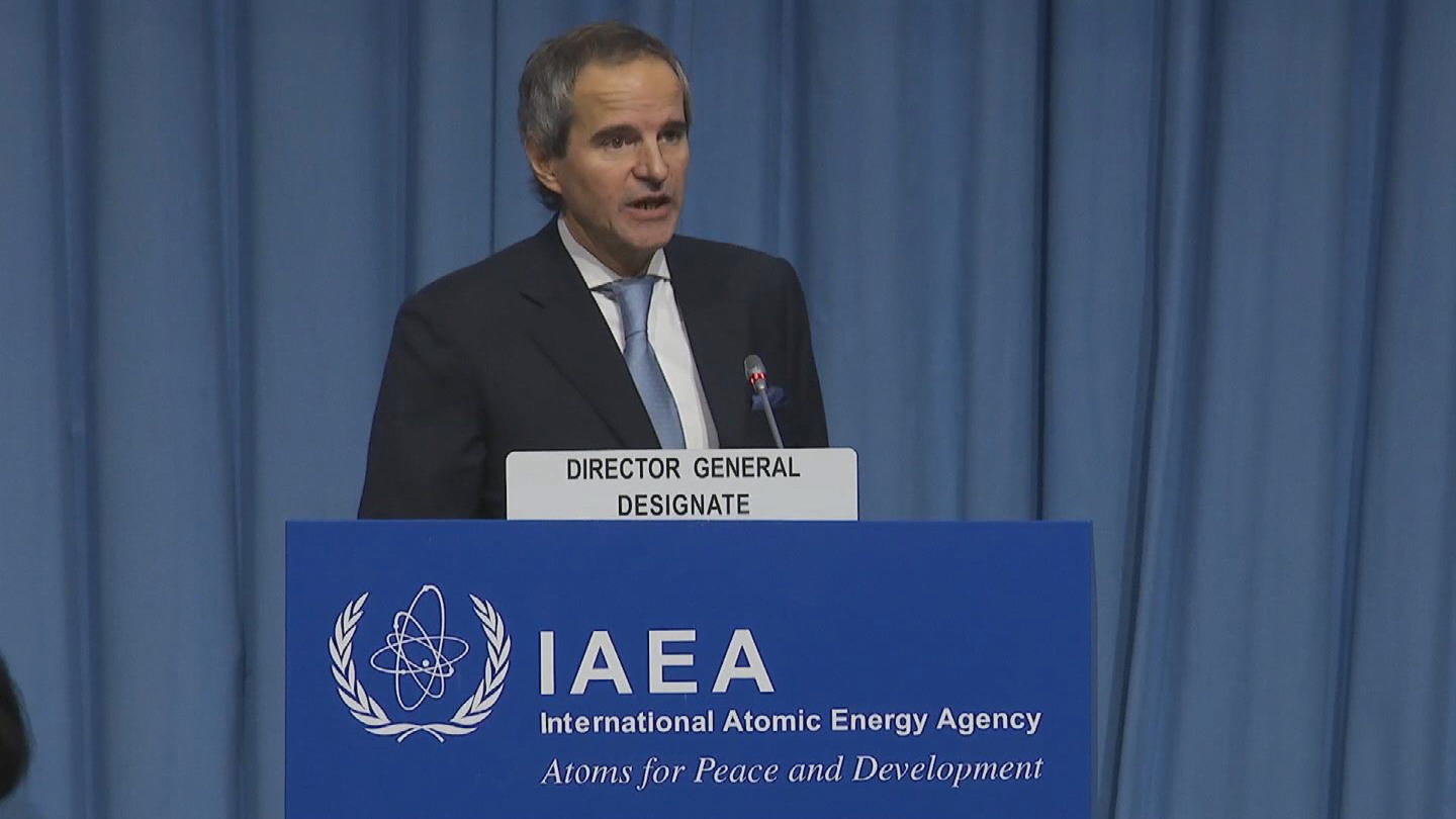 IAEA  NEW DIRECTOR GENERAL GROSSI