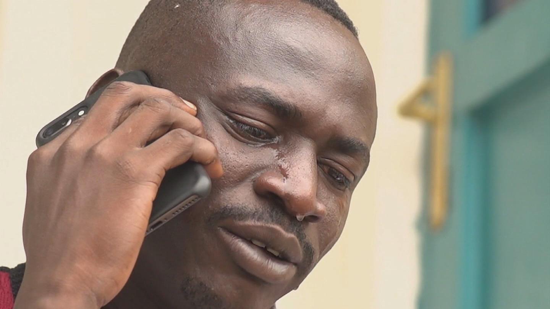 RWANDA  LIBYA EVACUEE