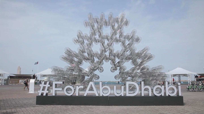ABU DHABI  AI WEIWEI PUBLIC ART