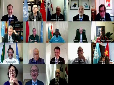 UN  SYRIA PEDERSEN