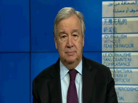 UN  GUTERRES WORLD PRESS FREEDOM DAY