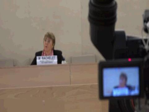 GENEVA  BACHELET SOMMARUGA PRESS FREEDOM